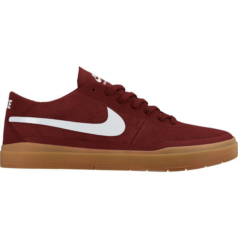 Nike SB Bruin Hyperfeel Side RedGum