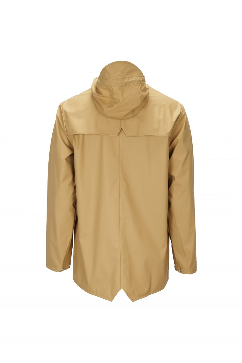 Rains, Jacket, Short, Waterproof, Raincoat, Coat, Khaki
