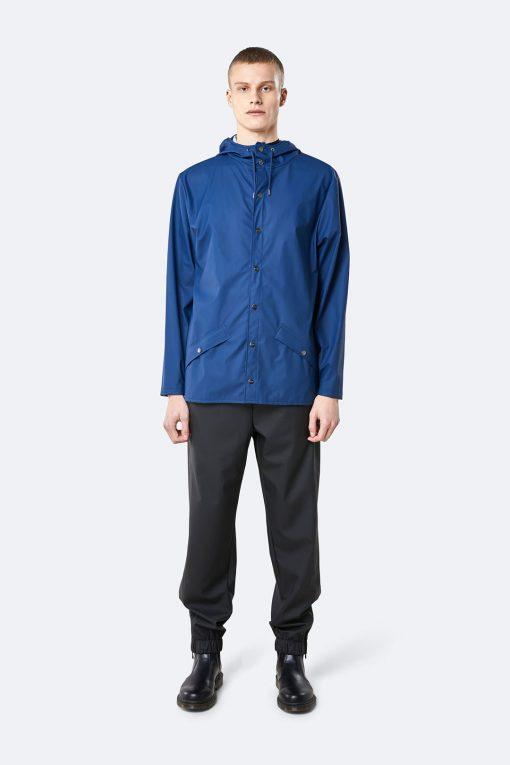 rains jacket true blue