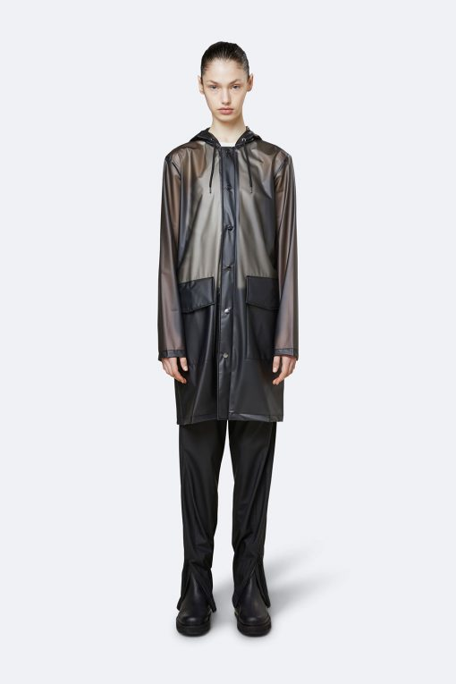 Rains transparent hooded coat