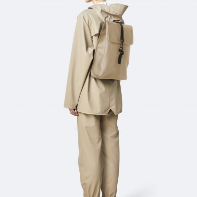 rains rucksack beige