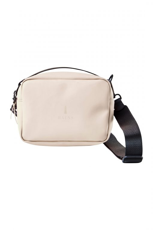 Rains box bag beige
