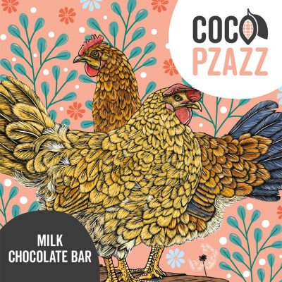 Coco Pzazz milk choc