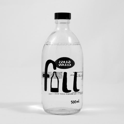 Fill Glass cleaner