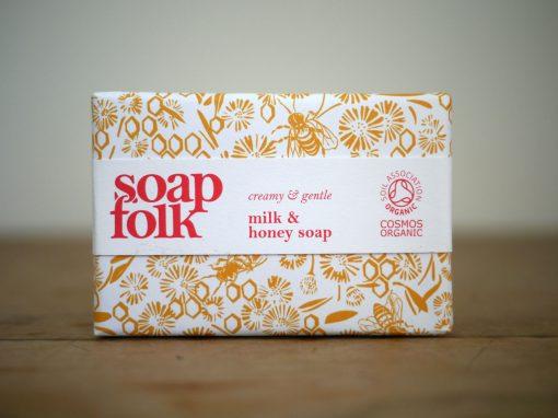 soap folk milk honey